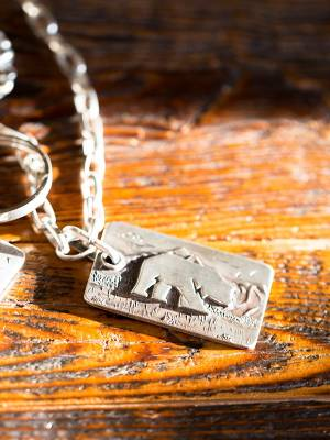 Legacy Classic Trucks Lifestyle & Apparel - Comstock Heritage Sterling Silver Legacy Pendant - Image 3