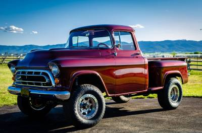 Legacy Classic Trucks Inventory - 1955 Chevy Napco 4x4 Conversion - Image 2