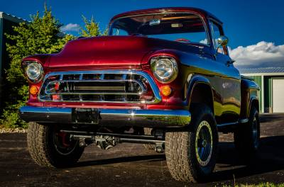 Legacy Classic Trucks Inventory - 1955 Chevy Napco 4x4 Conversion - Image 60