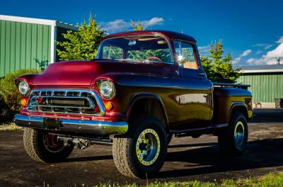 Legacy Classic Trucks Inventory - 1955 Chevy Napco 4x4 Conversion - Image 61