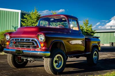 Legacy Classic Trucks Inventory - 1955 Chevy Napco 4x4 Conversion - Image 62