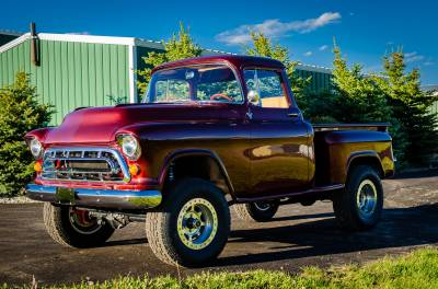 Legacy Classic Trucks Inventory - 1955 Chevy Napco 4x4 Conversion - Image 63