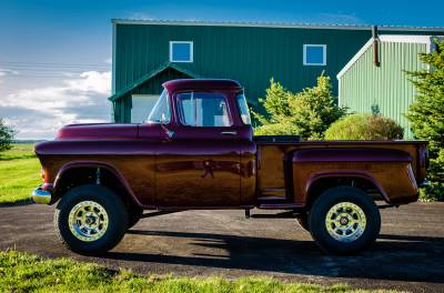 Legacy Classic Trucks Inventory - 1955 Chevy Napco 4x4 Conversion - Image 65