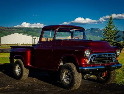 Legacy Classic Trucks Inventory - 1955 Chevy Napco 4x4 Conversion - Image 71
