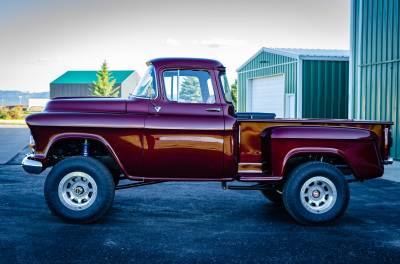 Legacy Classic Trucks Inventory - 1955 Chevy Napco 4x4 Conversion - Image 77