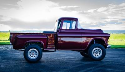 Legacy Classic Trucks Inventory - 1955 Chevy Napco 4x4 Conversion - Image 79