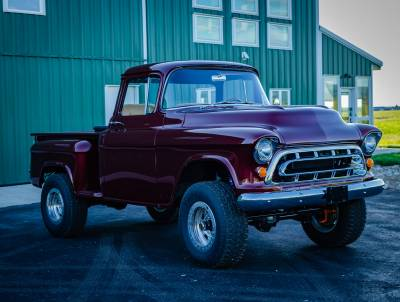 Legacy Classic Trucks Inventory - 1955 Chevy Napco 4x4 Conversion - Image 81