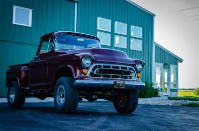 Legacy Classic Trucks Inventory - 1955 Chevy Napco 4x4 Conversion - Image 85