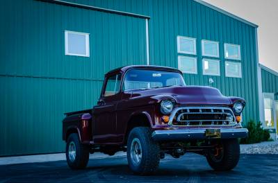 Legacy Classic Trucks Inventory - 1955 Chevy Napco 4x4 Conversion - Image 86