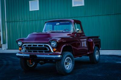 Legacy Classic Trucks Inventory - 1955 Chevy Napco 4x4 Conversion - Image 92