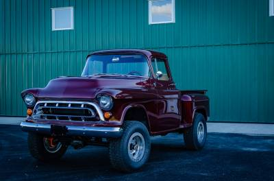 Legacy Classic Trucks Inventory - 1955 Chevy Napco 4x4 Conversion - Image 94