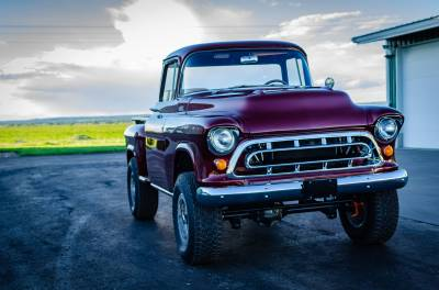 Legacy Classic Trucks Inventory - 1955 Chevy Napco 4x4 Conversion - Image 115