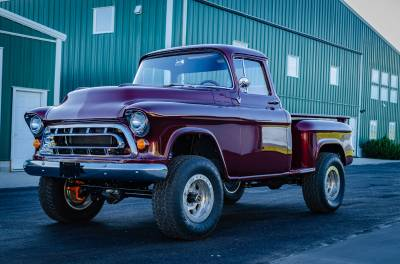 Legacy Classic Trucks Inventory - 1955 Chevy Napco 4x4 Conversion - Image 118
