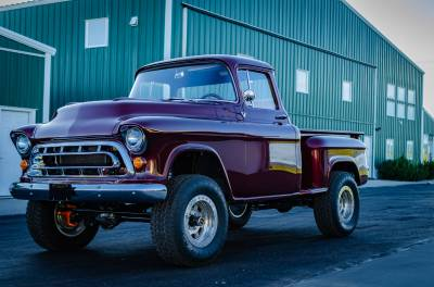 Legacy Classic Trucks Inventory - 1955 Chevy Napco 4x4 Conversion - Image 119