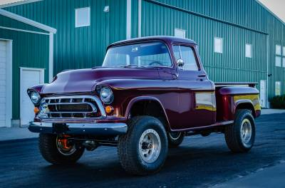 Legacy Classic Trucks Inventory - 1955 Chevy Napco 4x4 Conversion - Image 120