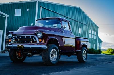 Legacy Classic Trucks Inventory - 1955 Chevy Napco 4x4 Conversion - Image 121