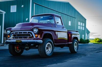 Legacy Classic Trucks Inventory - 1955 Chevy Napco 4x4 Conversion - Image 122