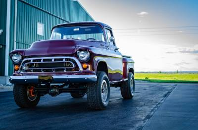 Legacy Classic Trucks Inventory - 1955 Chevy Napco 4x4 Conversion - Image 123
