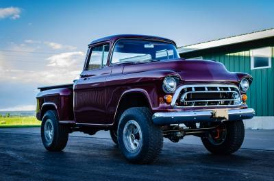 Legacy Classic Trucks Inventory - 1955 Chevy Napco 4x4 Conversion - Image 130