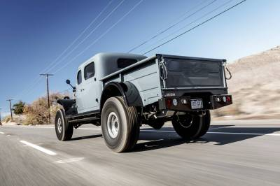 Legacy Classic Trucks Inventory - 1949 Dodge Power Wagon 4 Door - Anvil Grey - Image 10