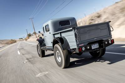 Legacy Classic Trucks Inventory - 1949 Dodge Power Wagon 4 Door - Anvil Grey - Image 12
