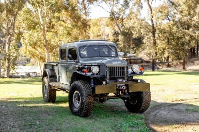 Legacy Classic Trucks Inventory - 1949 Dodge Power Wagon 4 Door - Anvil Grey - Image 18